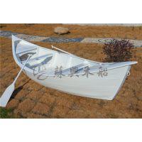 4米两头尖欧式观光船 欧式木船 房地产活动装饰船 精品木质道具船