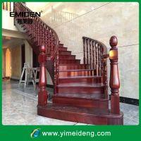 定制欧式楼梯实木家具/简洁时尚实木楼梯YMD-1125