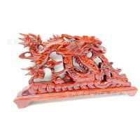 40/50CM红木雕刻吸水龙摆件 厂价批发越南红木工艺品  聚财风水