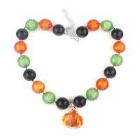 批发万圣节儿童串珠项链 外贸速卖通爆款饰品 chunky necklace