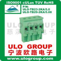 欧式端子 插拔式接线端子 5.0mm-5.08mm-4P  绿色环保宁波欧路019
