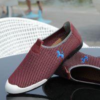 2015夏季男鞋潮网布运动潮鞋夏天网鞋透气网面男士休闲鞋鞋子男鞋