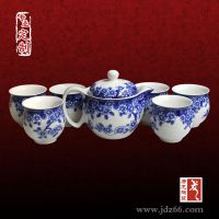 陶瓷茶具定制、高档陶瓷茶具定制定做(可加照片)
