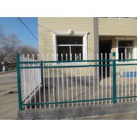 三根横梁带花围墙护栏 学校锌钢围墙护栏 小区围墙 生产厂家