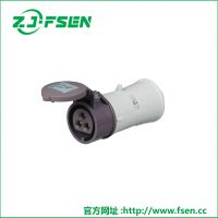 富森供应16v低压连接器 5孔组合工业插座32a集装箱插座