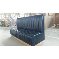 餐饮沙发工厂 简约餐厅卡座定制 上海忱净家具