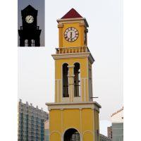 2017新款塔钟建筑钟表 康巴丝大型建筑钟 外墙挂钟