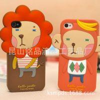 供应iphone4罗马尼硅胶套 115.2x58.6x9.3mm手机保护套 硅胶手机套