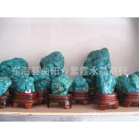 新品 天然绿松石原石摆件办公用品外贸出口水晶工艺品礼品批发