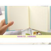 语源韩国文具 插套式方形布艺精装本 可爱日程计划本记事本