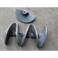 三一重工DTU75摊铺机叶片叶轮、搅龙叶片、熨平板