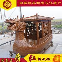 湖南贵州广西云南哪有木船厂家出售景区私人定制木船 大型公园客船旅游观光船龙船