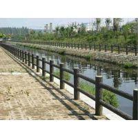 批发驻马店正阳地区厂家直销仿树皮1.5米护栏水泥产品