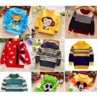 2016冬季儿童毛衣童装女韩版新款童针织衫女童毛衣套头衫