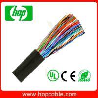 常用室外通信线缆  50对100芯屏蔽FTP铜包铝电话线   0.5mm
