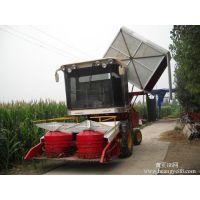 小麦联合改装的玉米秸秆青储机