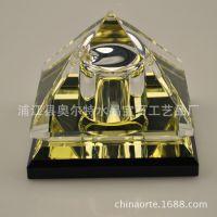 个性水晶工艺品-金字塔香水座-汽车香水-礼品公司热卖-多款混批