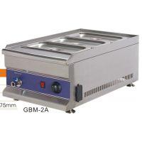 GBM-2B 四盆四格台式燃气煤气保温热汤池暖汁箱