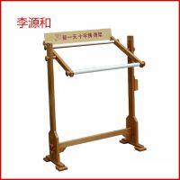 生产供应 中号立式实木十字绣架 可支持定制