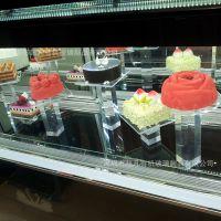亚克力蛋糕架 五层蛋蛋糕展示架 有机玻璃圆型方架蛋糕加工定做