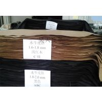 头层1.8-2.0MM厚皮胚黑色自然色水牛皮料 特订皮带革真皮牛皮革