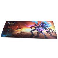 超大加厚游戏鼠标垫LOL英雄联盟鼠标垫厂家楚人龙定做