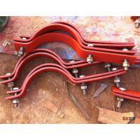 佰誉管道生产基准型双螺栓管夹|A5-1管夹