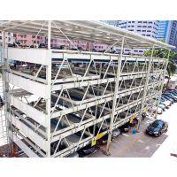 供应四川莱贝PSH9九层升降横移类立体停车库设备