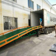 鑫力10吨移动式登车桥 装卸桥厂家定制