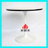 家具厂直销出口品质餐桌简约现代双头喇叭桌脚餐桌热销国内外 修改