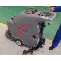 供应湖北油漆地面高美手推式全自动洗地机GM50B