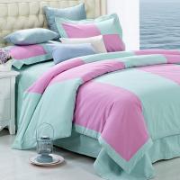好梦缘纯棉老粗布床单 四件套 三件套 家纺床上用品厂家批发