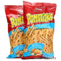 镀铝薯条薯片充气包装袋 锅巴充气自动包装卷膜 面包食品包装袋现货