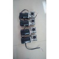 蚌埠高新区滤清设备用万鑫微型电机匹配铝合金涡轮减速机广泛使用