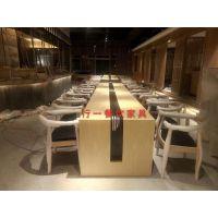 深圳料理店桌椅厂家 ,实木还是板式的好,行一家具,日式风格