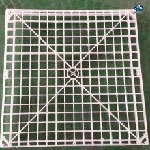 增强聚丙烯网格填料 防堵污水网格填料厂家 815×815 650×650 【河北华强】
