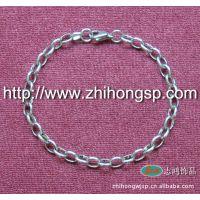 厂家供应不锈钢蛋形焊口手链、韩版流行款式不锈钢手链、珍珠手链