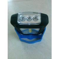 3LED+3W COB塑料检修灯 户外营地照明手电 大功率工作灯