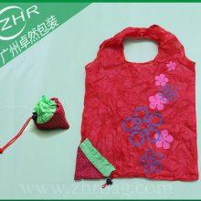 190T防水涤纶袋 印花涤纶布袋 束口穿绳草莓袋 高档牛津布广告袋