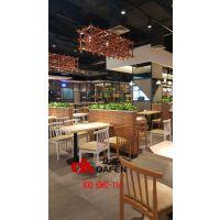 深圳美味源自选快餐卡座桌椅专业定制厂家--达芬家具