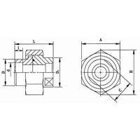 钢管用插入焊接式接头:ZY437系列活接头