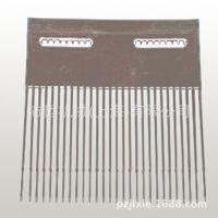 供应bezel专业杀菌机网链过渡梳子板 输送网带过渡梳子板