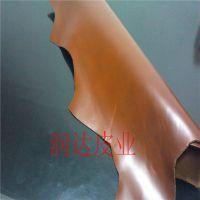 红棕全油皮进口皮2.0厚牛皮头层牛皮皮料哥伦比亚AAA级