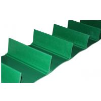 爬坡分料机皮带 PVC加档板输送带