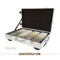 方形石英石铝合金样品箱PX014