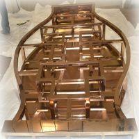 供应简易不锈钢酒架 钛金洋酒架来图加工
