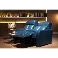 佛山市赤虎家具工厂长期供应高档质优现代皮制电动多功能影院沙发椅