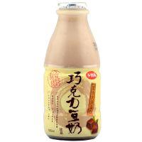 台湾进口豆奶 乡田真巧克力豆奶165mlX24瓶 休闲零食品豆制品批发
