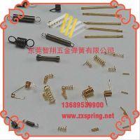厂家专业热销 多款旋向高精密涡卷弹簧 环保机械设备压缩弹簧批发