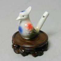 批发陶瓷水鸟口哨音乐水鸟儿童趣味玩具创意玩具小马水鸟十二生肖
